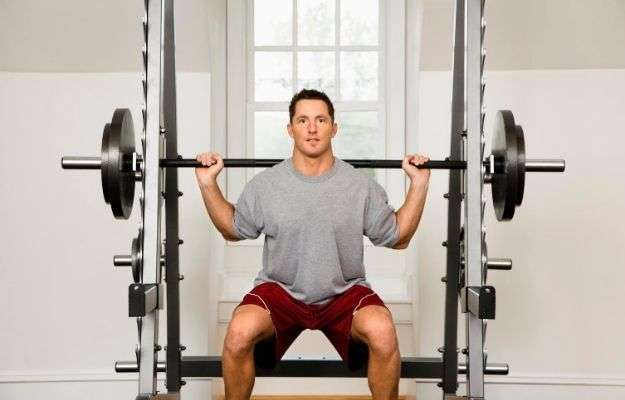 A portrait of a man lifting weights | Lift Heavy Weights