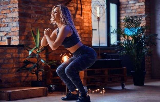 woman doing exercise at home | Choose the Right Exercise | 7 Science-Backed Ways To Lose Stubborn Body Fat