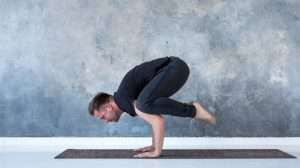 Crow-Pose-or-Bakasana | Yoga For Anxiety 5 Tips and Positions | feature