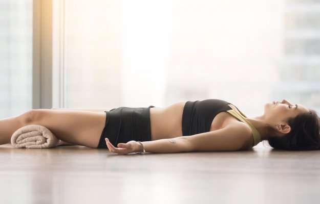 Yoga-For-Anxiety-Corpse-Pose   Yoga For Anxiety 5 Tips and Positions   1 Yoga For Anxiety   Corpse Pose (Savasana)