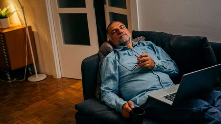 mature-man-fallen-asleep-on-couch-ss-Low-T-and-Estradiol-Levels-Shows-Increased-Mortality-Risk-In-Men | Feature | Low T and Estradiol Levels Shows Increased Mortality Risk In Men