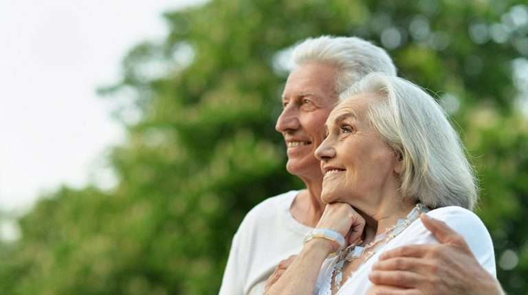 Happy elderly couple | 3 Surprising Ways Epigenetics Can Add Years to Your Life