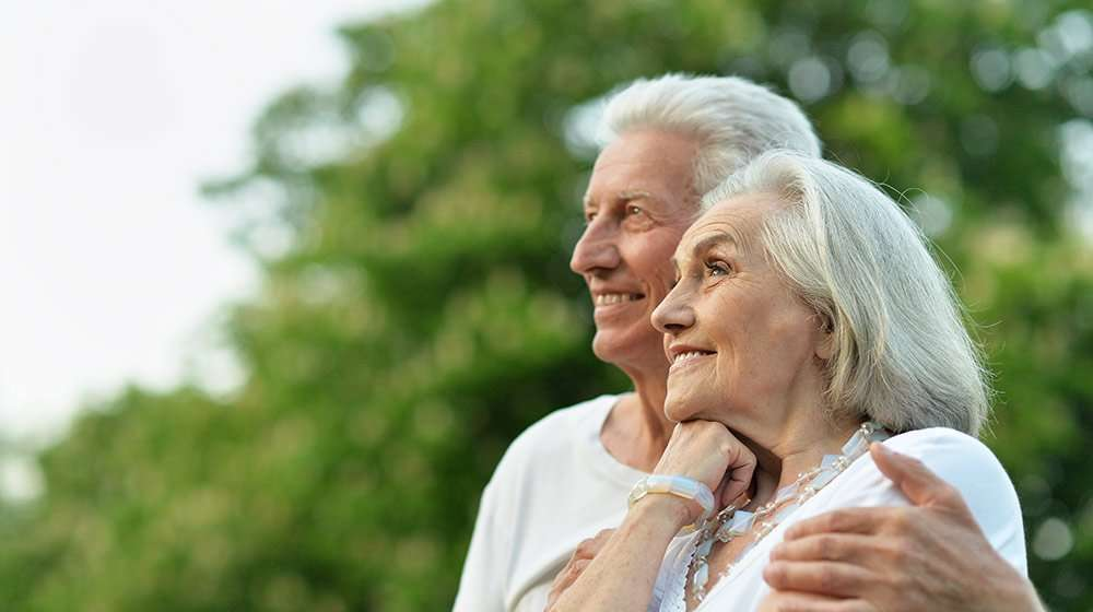 Happy elderly couple   3 Surprising Ways Epigenetics Can Add Years to Your Life