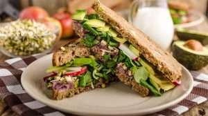 Healthy meal with brown bread, avocado, salad | Feature | What is a Low-Calorie Diet & Who Is It For?